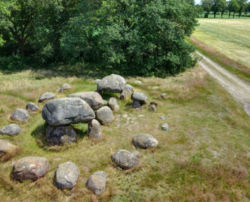 Megalithic grave (hunebed D15), Loon, The Netherlands. Neolithic (3400-2750 BC). Photo J.R. Beuker.