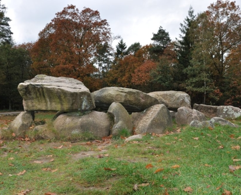 Megalithic grave (hunebed D30), Exloo, The Netherlands. Neolithic (3400-2750 BC). Photo J.R. Beuker.